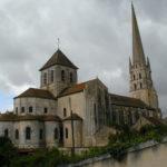 St.Savin sur Gartempeの後背部