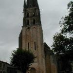 St.Savin sur Gartempeの教会堂正面