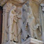 Vezelay 中央扉口彫刻