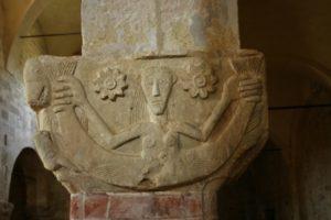 Cortazzone 柱頭彫刻
