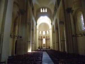 Clermont Ferrandの身廊