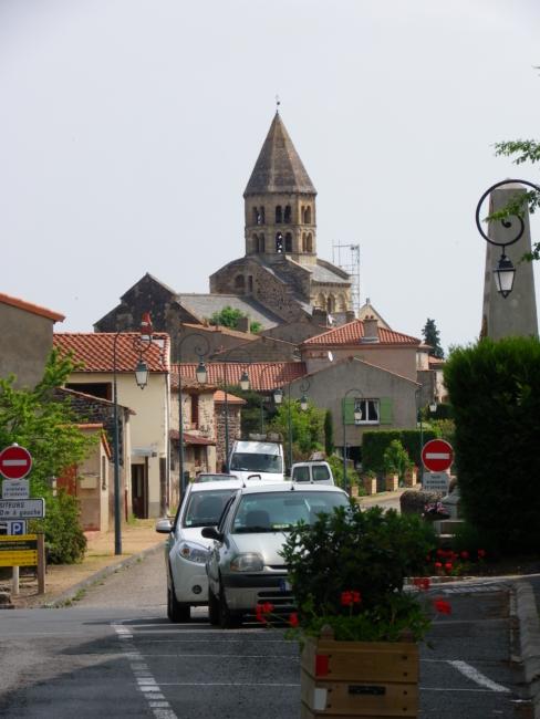 St.Saturninのロマネスク教会堂