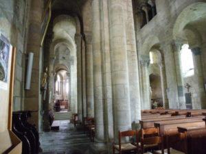 St.Saturnin 側廊