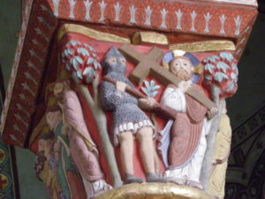 Issoire 柱頭彫刻