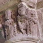 Brioude 柱頭彫刻