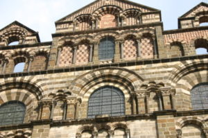 Le Puy / Cathedrale 教会堂 正面