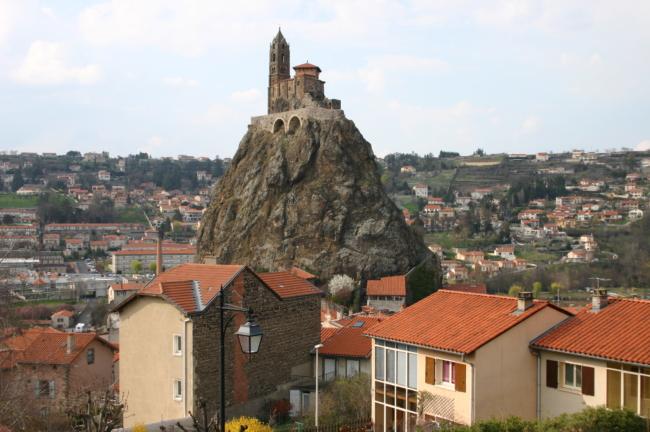 Le Puy / St.Michel d`Aiguilhe 全景