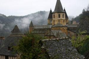 Conquesのロマネスク教会堂