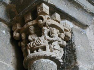 Le Puy / Cathedrale 回廊 柱頭彫刻