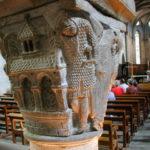 Mozac 柱頭彫刻