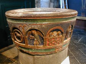 Mauriac 洗礼盤