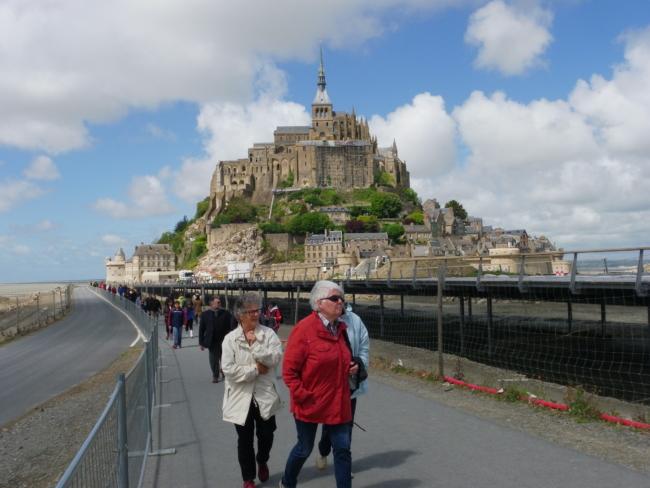Le Mont St.Michel 全景