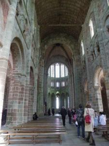 Le Mont St.Michel 身廊