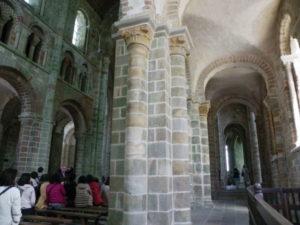 Le Mont St.Michel 側廊