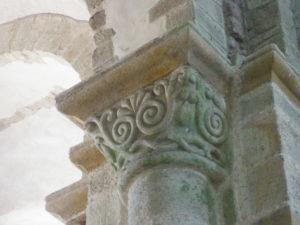Le Mont St.Michel 柱頭彫刻