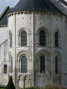 St.Martin de Boscherville 後背部