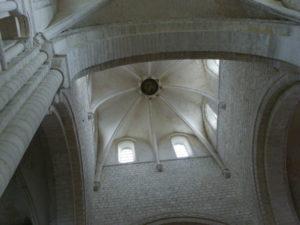 St.Martin de Boscherville 交叉部  ドーム