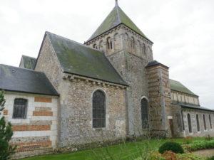 Maneglise 教会堂側面