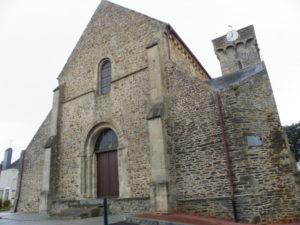 Barneville Carteret 教会堂正面