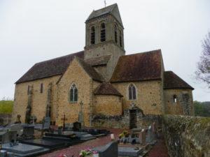 St.Ceneri le Gerei 教会堂側面