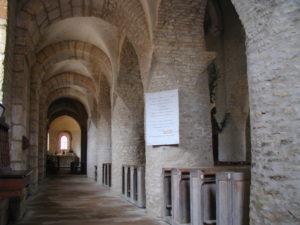 Chapaize 側廊