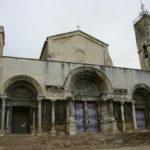 St.Gilles du Gard 教会堂正面
