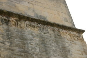 St.Restitut 壁面彫刻