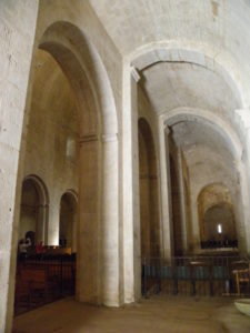 Senanque 側廊