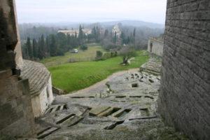 Montmajour 墓地跡