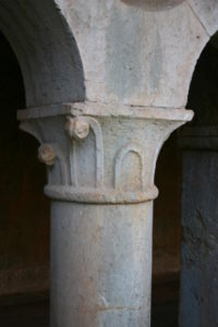 le Thoronet 柱頭彫刻