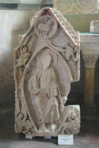 St.Menoux 彫刻