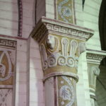 Bourbon l'Archambault 柱頭彫刻