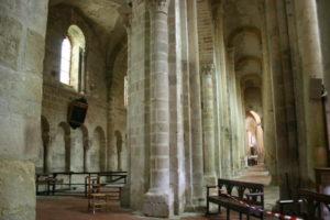 Souvigny 側廊
