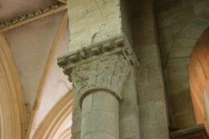 Souvigny 柱頭彫刻