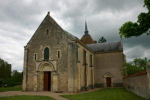St.Parize 教会堂正面