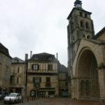 Beaulieu 教会堂前広場