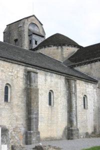 Oloron Ste.Marie / St.Croix 教会堂側面