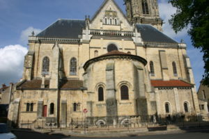 Nevers Cathedrale 後背部