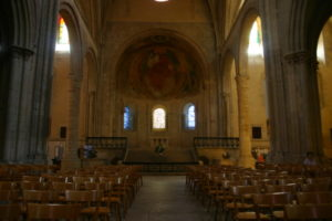 Nevers Cathedrale 身廊