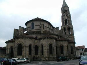 St.Leonard de Noblat 後背部