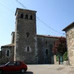 Champagne sur Rhone 教会堂側面