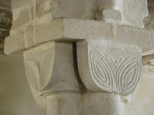 Langonnet 柱頭彫刻