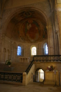 Nevers Cathedrale 内陣