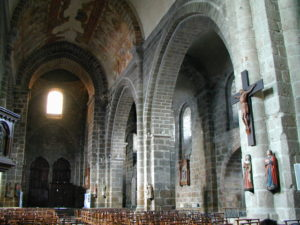 St.Junien 身廊