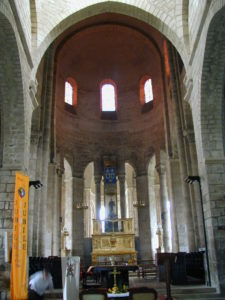 St.Leonard de Noblat 内陣