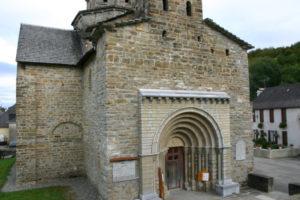 L'Hopital St.Blaiseの教会堂正面