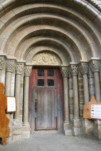 L'Hopital St.Blaiseの扉口