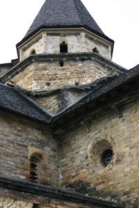L'Hopital St.Blaiseの後背部