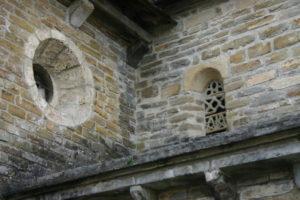 L'Hopital St.Blaiseの窓