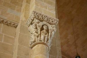 Lescar 柱頭彫刻